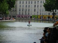 Why take a boat when you can walk on water?