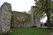 Remains of the gate