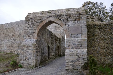 The gate of Jeanne d'Arc