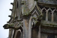 Gargoyles at the church