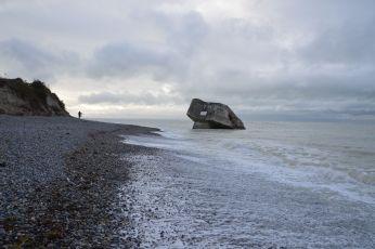 Bunker in the sea