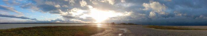 Sunset at Le Hourdel