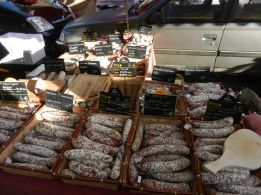Sausages! A lot of sausages!