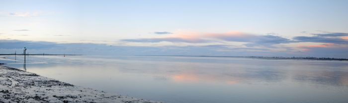 Evening colours - panoramic
