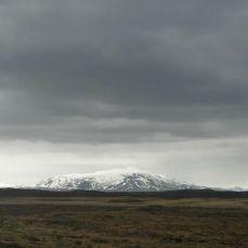 Landscape at Gullfoss