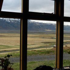 View on Eyjafjallajökull