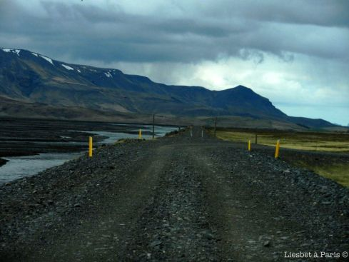 The famous gravel road