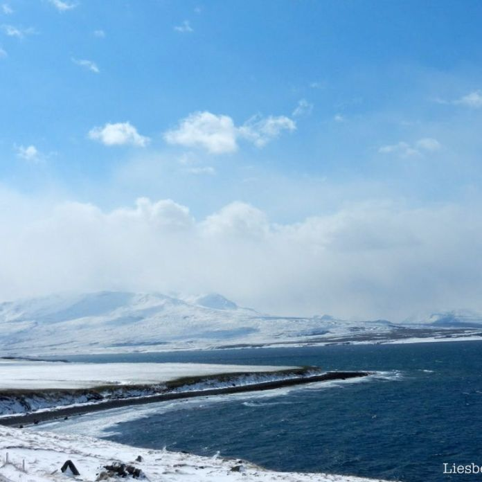 Akureyri: at the other side of the fjord
