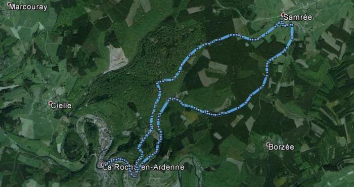 Hike La Roche - Samrée - La Roche