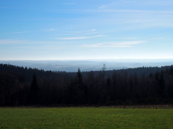 Landscape in La Roche en Ardenne