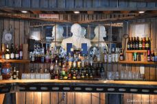 The bar and Lenin's bust