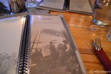 The A la carte Menu