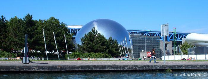Parc de la Villette + Géode